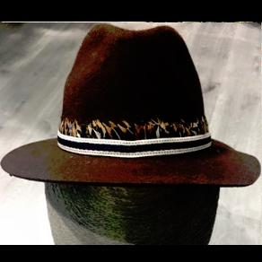 Sombrero marrón otoño  3332af6278e